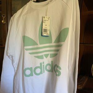 Adidas oversize crew sweatshirt